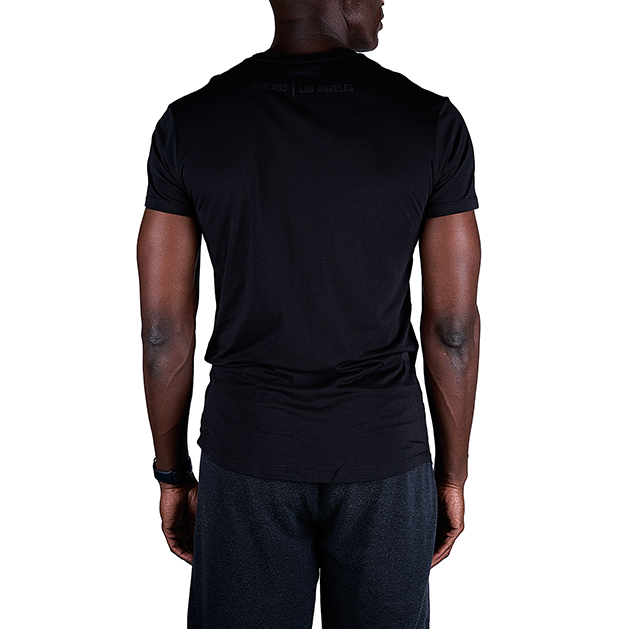 Tensho Tensho Tee Premium supima/micro-modal blend provides comfort and style for the street but also the breathability needed for training. Tonal, stretchable screening. Slightly scalloped hem with enhanced length for coverage during training.  Sizing: Tailored around the arms and chest. Size up for a looser fit.