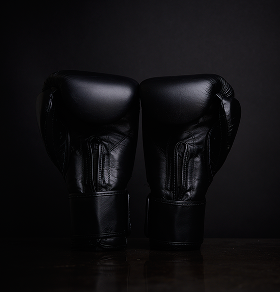 Tensho Origin boxing gloves in black