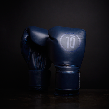 Tensho Origin boxing gloves in dark blue
