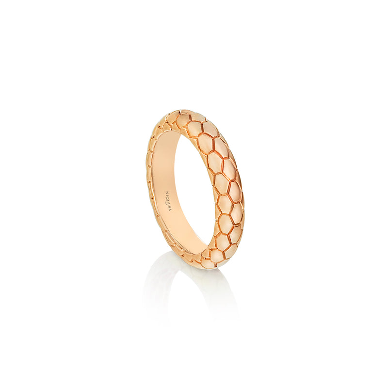 Ophidian Rose Gold Band Ring