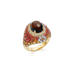 Venice Columbina Smokey Quartz Ring