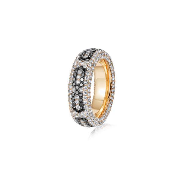 Starlight Infinity Medium Yellow Gold Ring