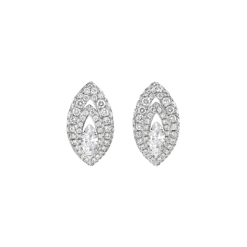 Gemma Diamond Pave' Earrings