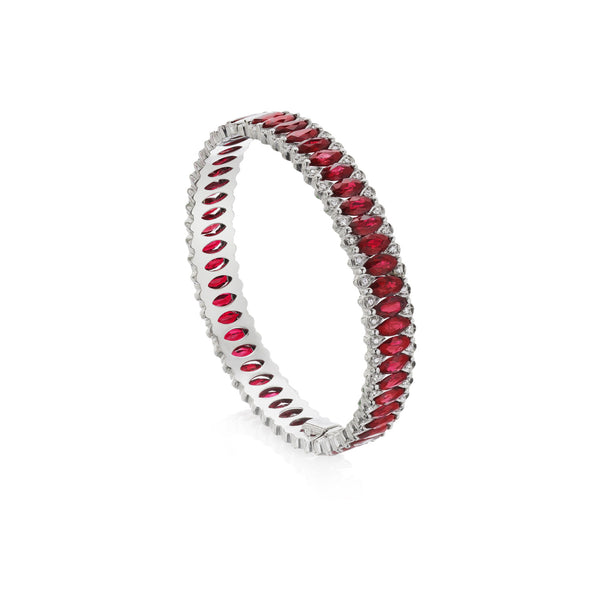 Amore Eternity Ruby Bangle