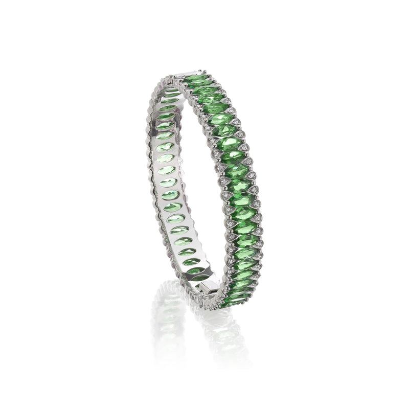 Amore Eternity Tsavorite Bangle