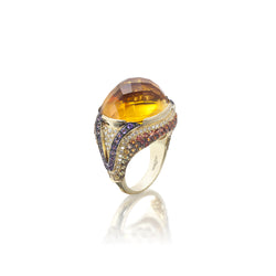 Venice Zanni Citrine Ring