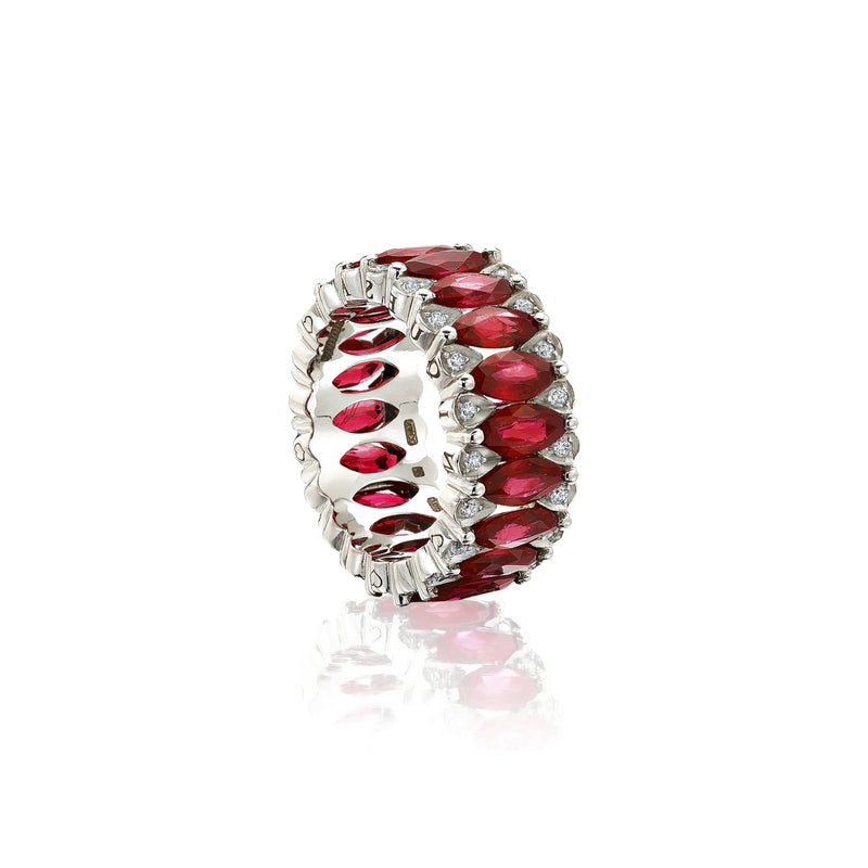 Amore Eternity Ruby Ring