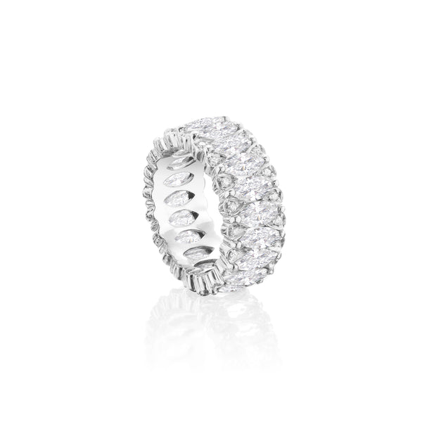 Amore Eternity White Diamond Ring