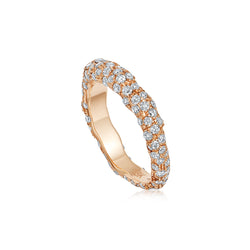 Starlight Roma Rose Gold Diamond Ring