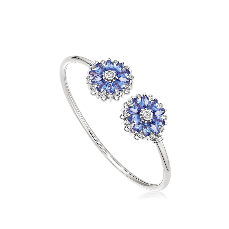 Amore Dalia Tanzanite Bangle