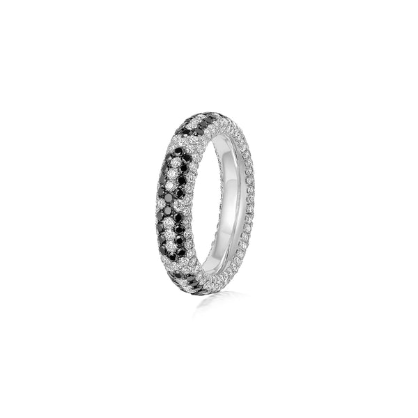 Starlight Infinity Small White Gold Ring