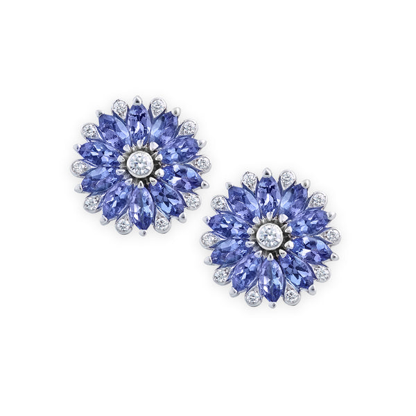 Amore Dalia Tanzanite Earrings