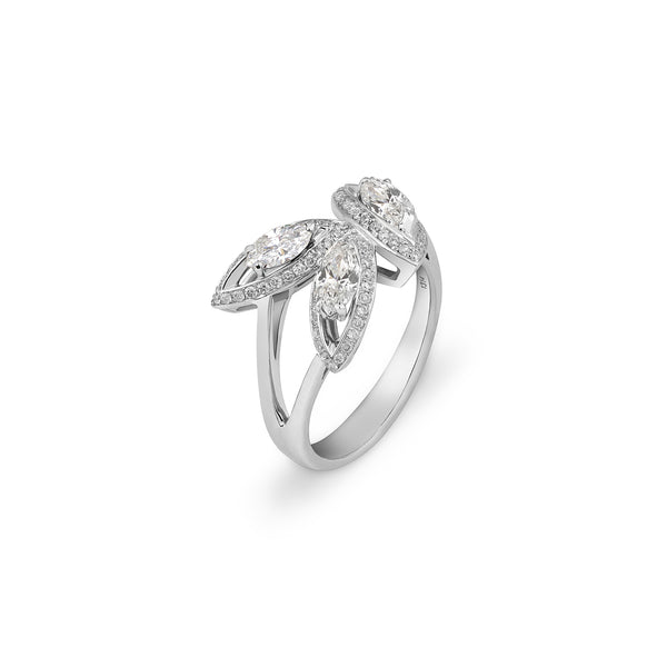 Petali Diamond Flora Ring