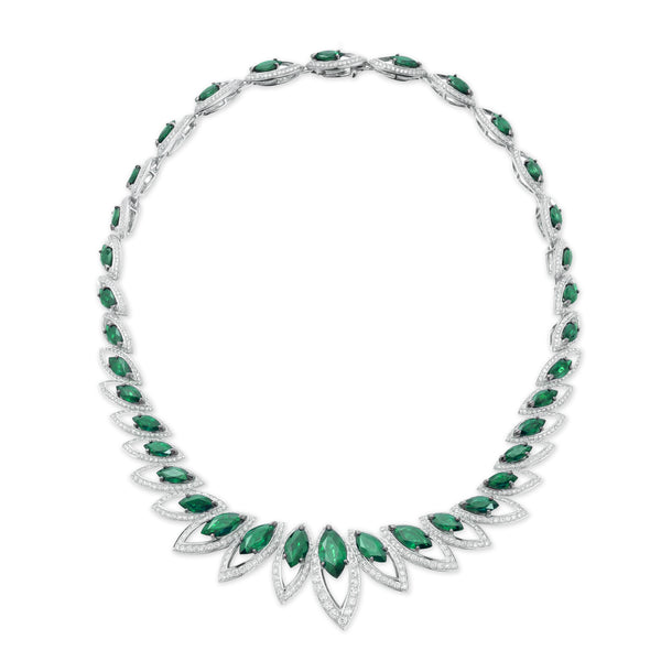 Petali Emerald Necklace