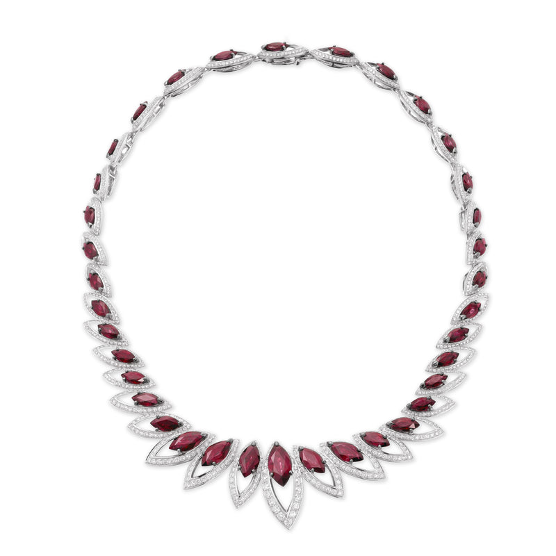 Petali Ruby Necklace