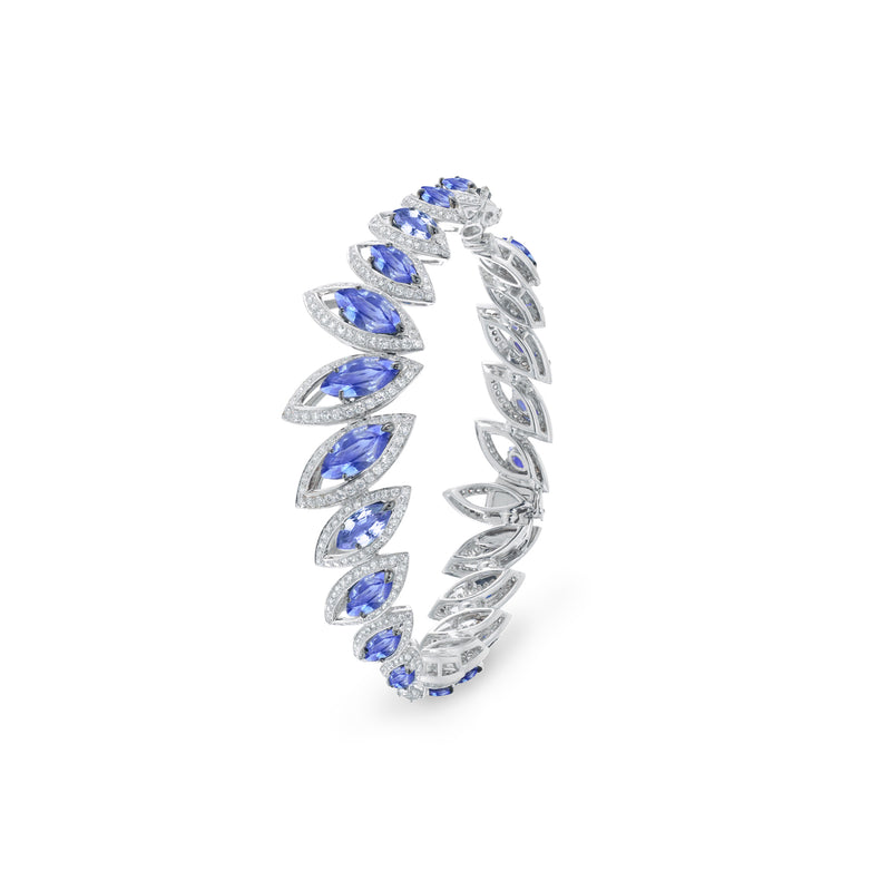 Petali Tanzanite Bangle