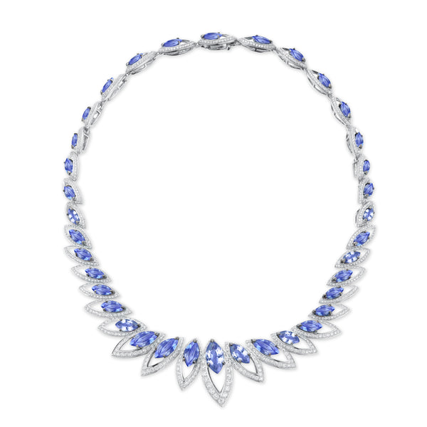 Petali Tanzanite Necklace
