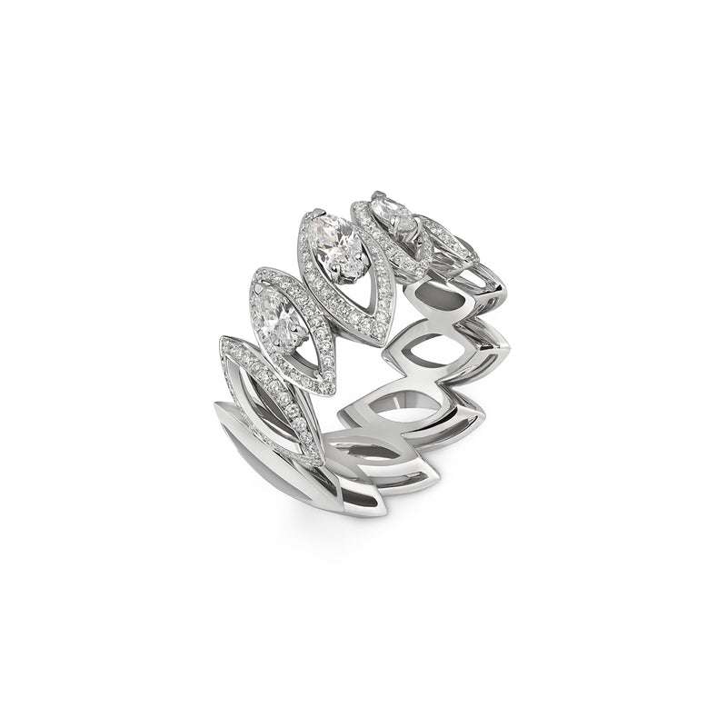 Petali Trilogy Diamond Ring