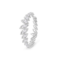Petali Diamond Bangle