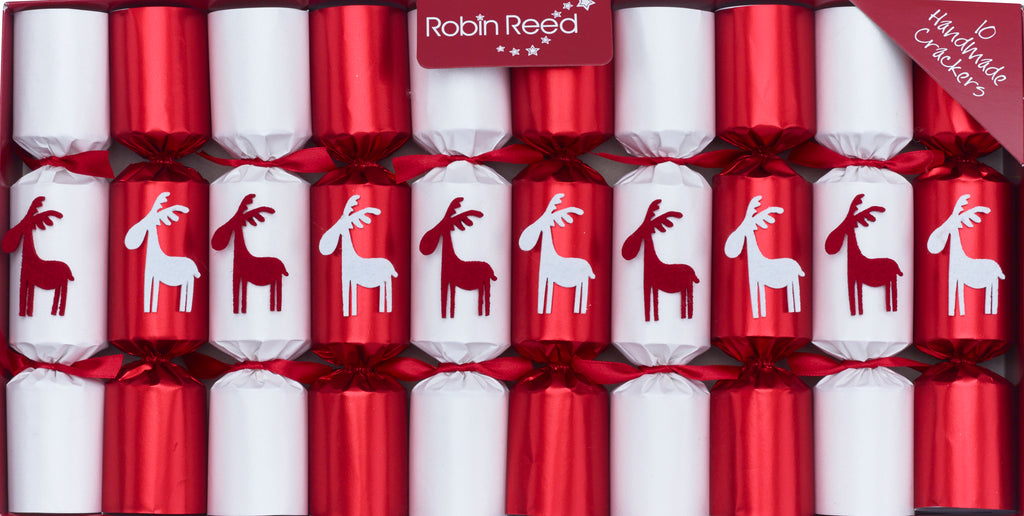 "10 X 8.5"" Handmade English Christmas Crackers By Robin Reed - Christmoose - 438"