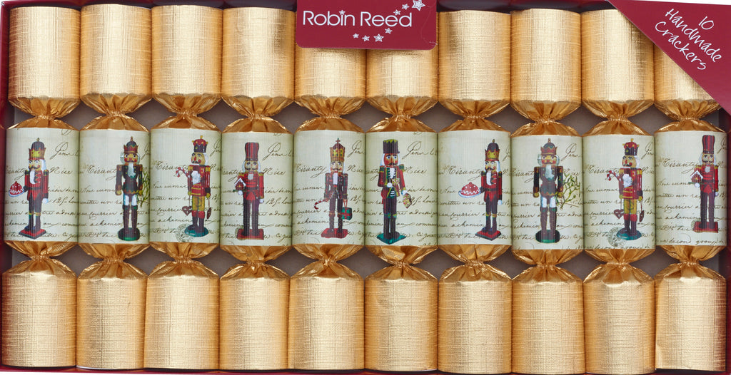 "10 x 8.5"" Handmade English Christmas Crackers by Robin Reed - Nutcracker  (443)"