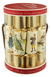 "12 X 10"" English Christmas Crackers By Robin Reed - 12 Days of Christmas 5025"