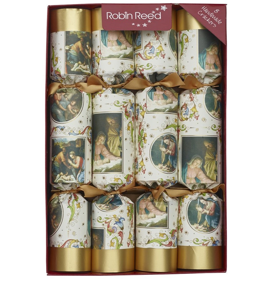 "8 x 12"" Handmade Christmas Crackers by Robin Reed - Nativity Collectables - 61702"