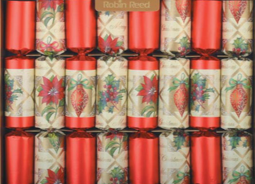 "8 X 10"" Handmade English Christmas Crackers By Robin Reed - Ornaments (CCSUSA1803)"