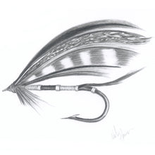 Load image into Gallery viewer, Salmon Fly Art Print