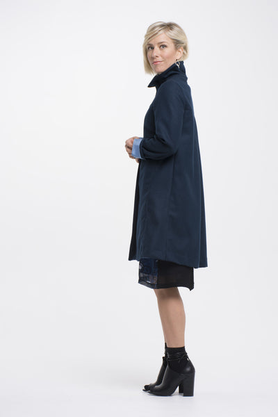Vesta Winter Coat - Tapenade