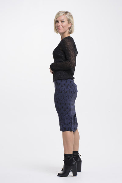 Vesta Fine Wool Jumper - Black