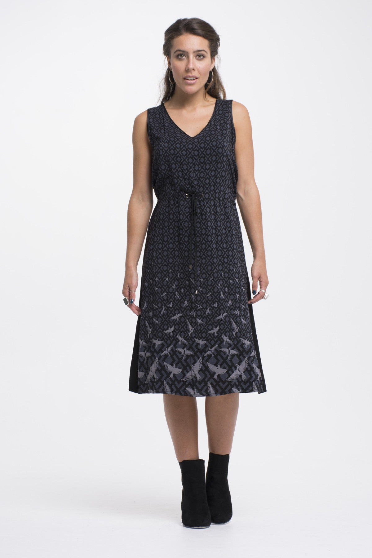 Juna Flight Path Tank Dress