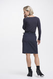 Vesta Denim 2Pocket Skirt - Navy