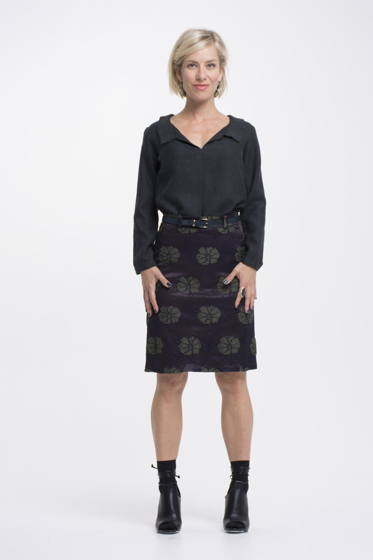Vesta Macbeth Skirt - Mulberry