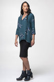 Juna A-Line Top - Blue Orchid