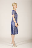 Vesta Virginia Dress - Blue Diamond