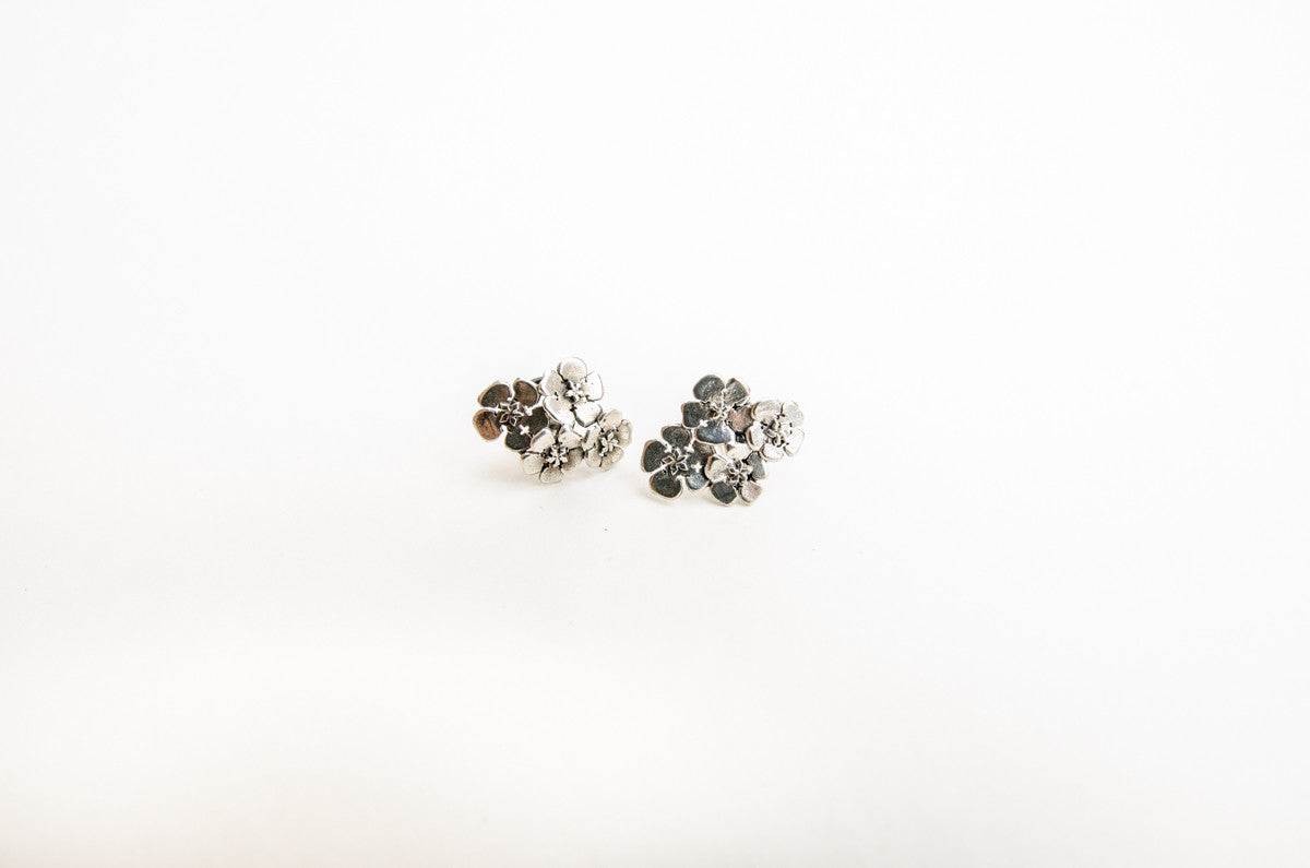 Chatham Island Forget Me Not Earrings