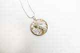 NZ Weather Map Sterling Sliver Pendant