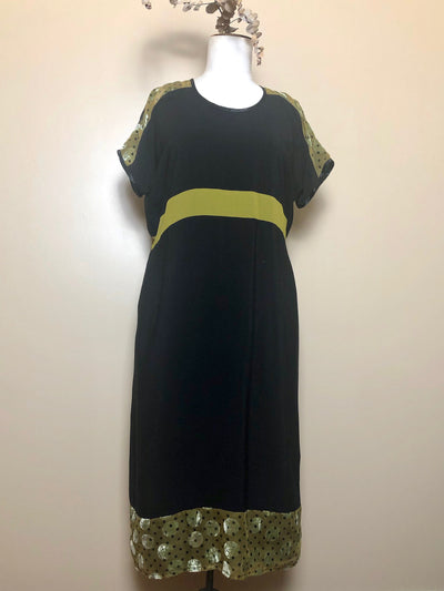 Juna Strip Dress - Citrine