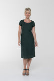 Vesta Sunray Dress - Sage