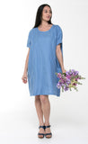 Juna Linen Pocket Dress