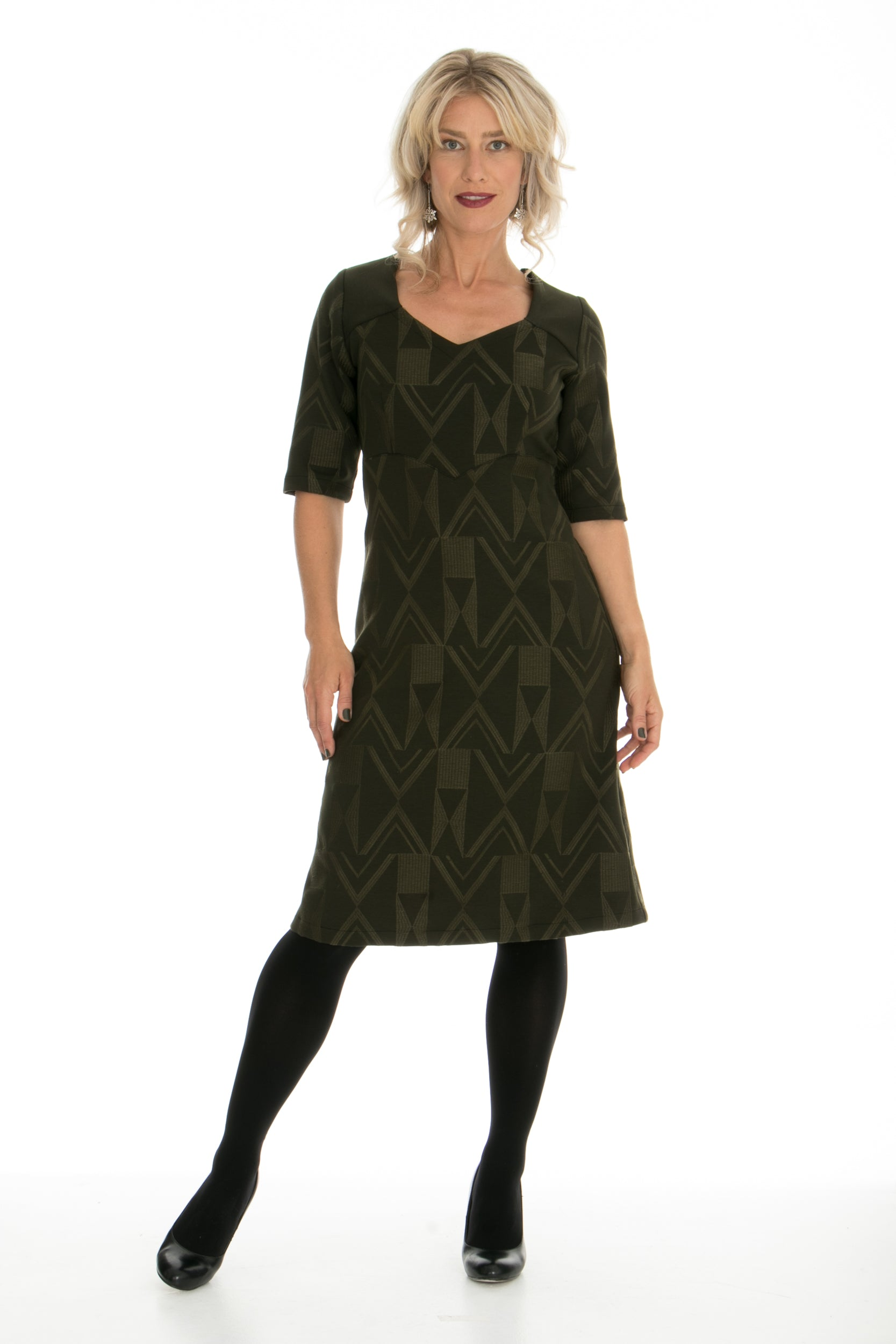 Vesta Astro Dress - Sergeant Stitched Ponti was $248 now $218