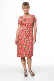 Vesta Sunray Dress - Tangelo was $228 now $188