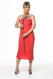 Vesta Bias Slip Dress - Jaffa