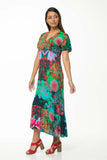 Juna Tulip Maxi Dress - Botanic