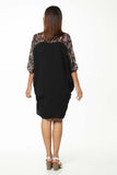 Juna Gabrielle Dress - Black Rosemary