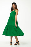 Juna Tier Pinni Dress - Verde