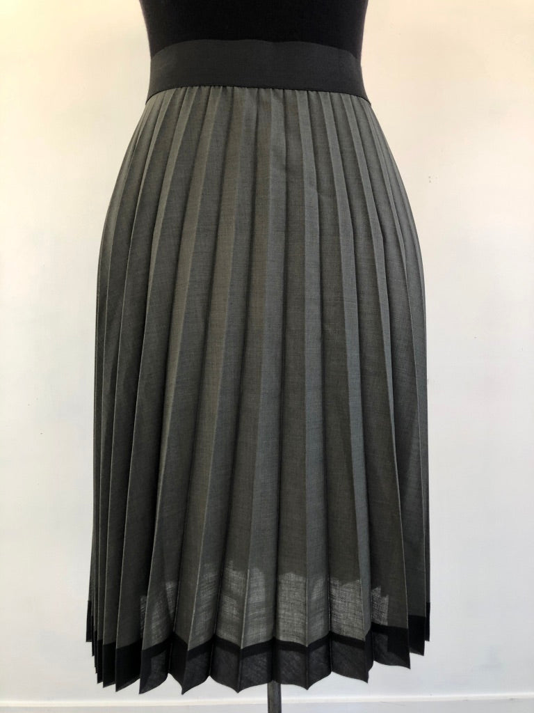 Juna Sunray Pleat Skirt - Moss