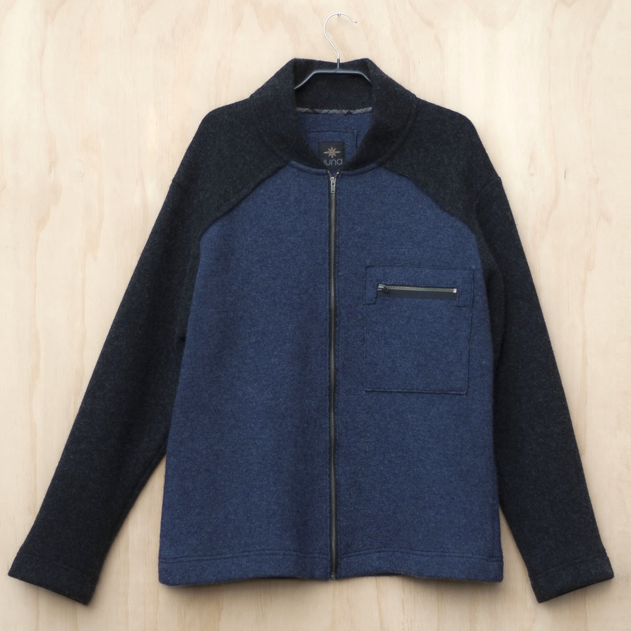 Juna Menswear Hakanoa Jacket - Blue