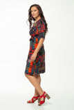 Vesta Wrap Dress - Matrix was $238 now $188